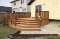 Landscape Design Features: Deck and Patio