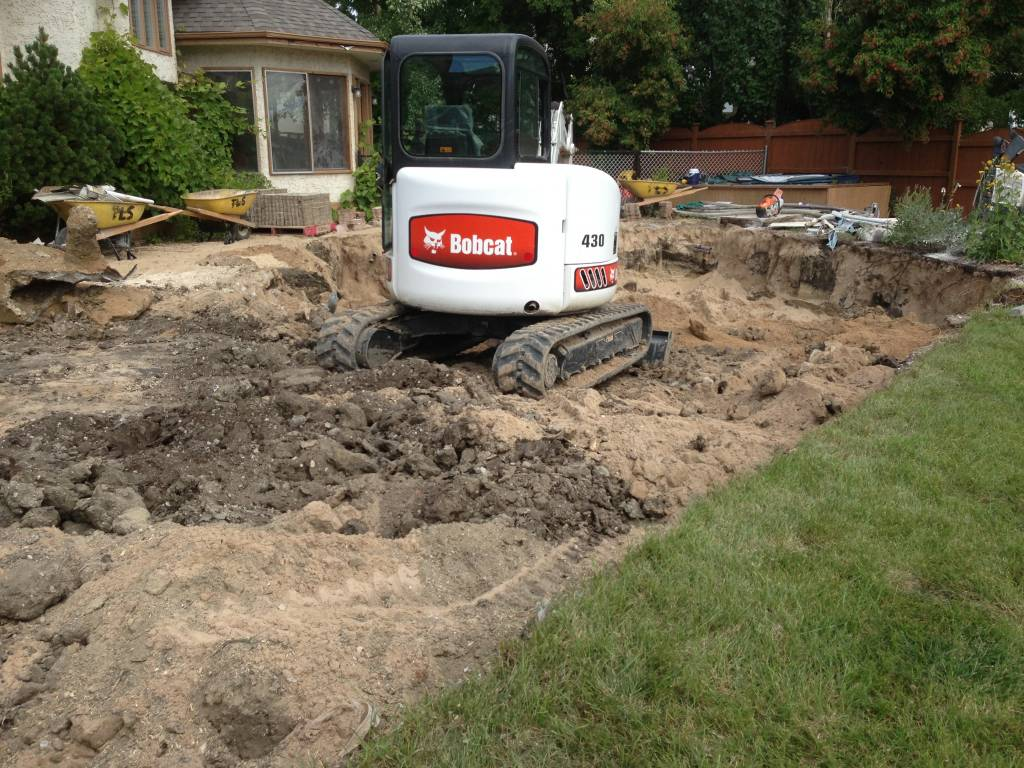 Swimming Pool Removal in Winnipeg
