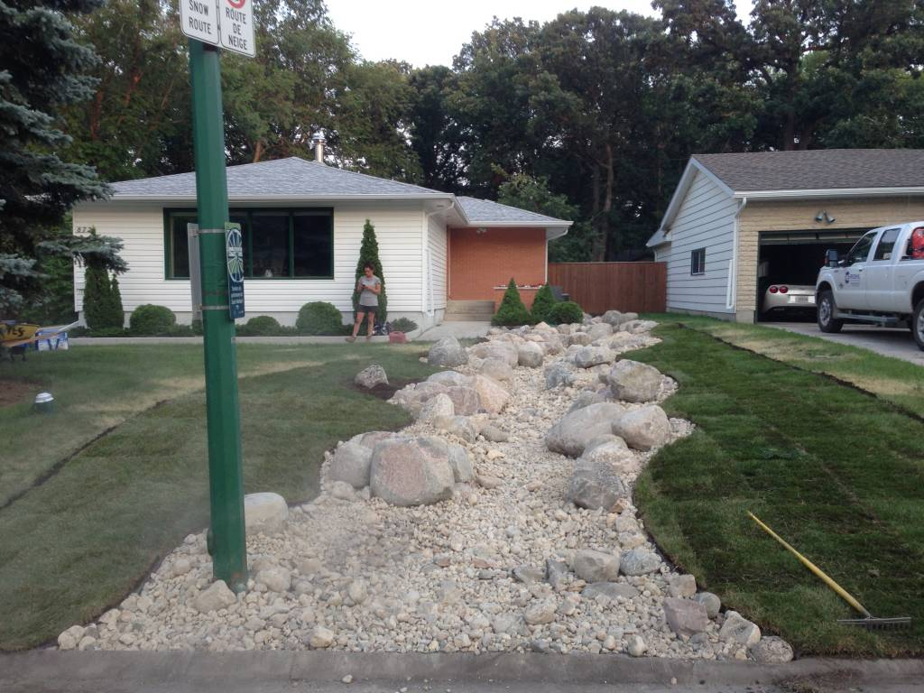 Landscaping Solutions for drainage challenges