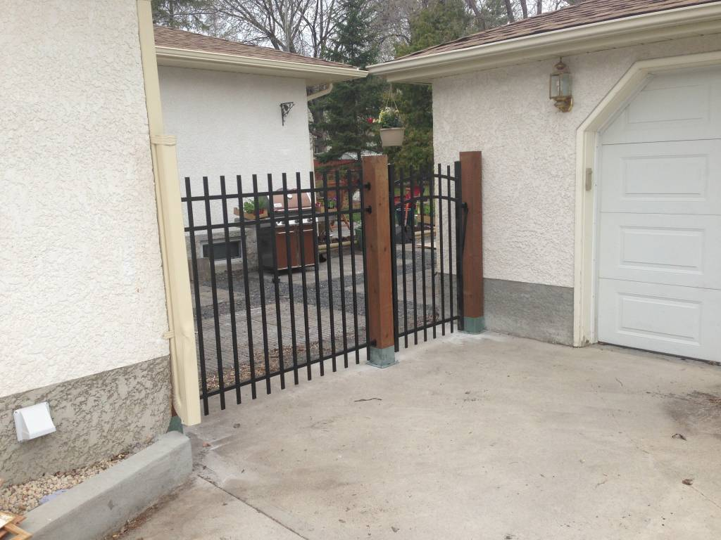 Custom fencing solutions by The Lawn Salon