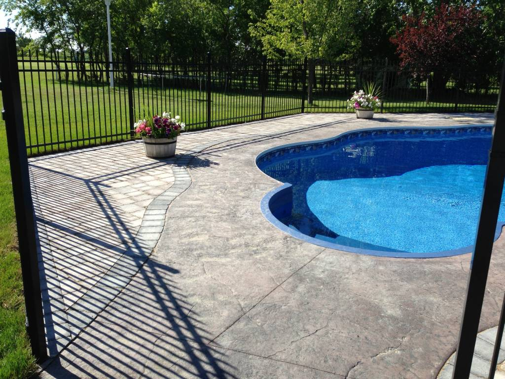 swimming pool decks with style in winnipeg