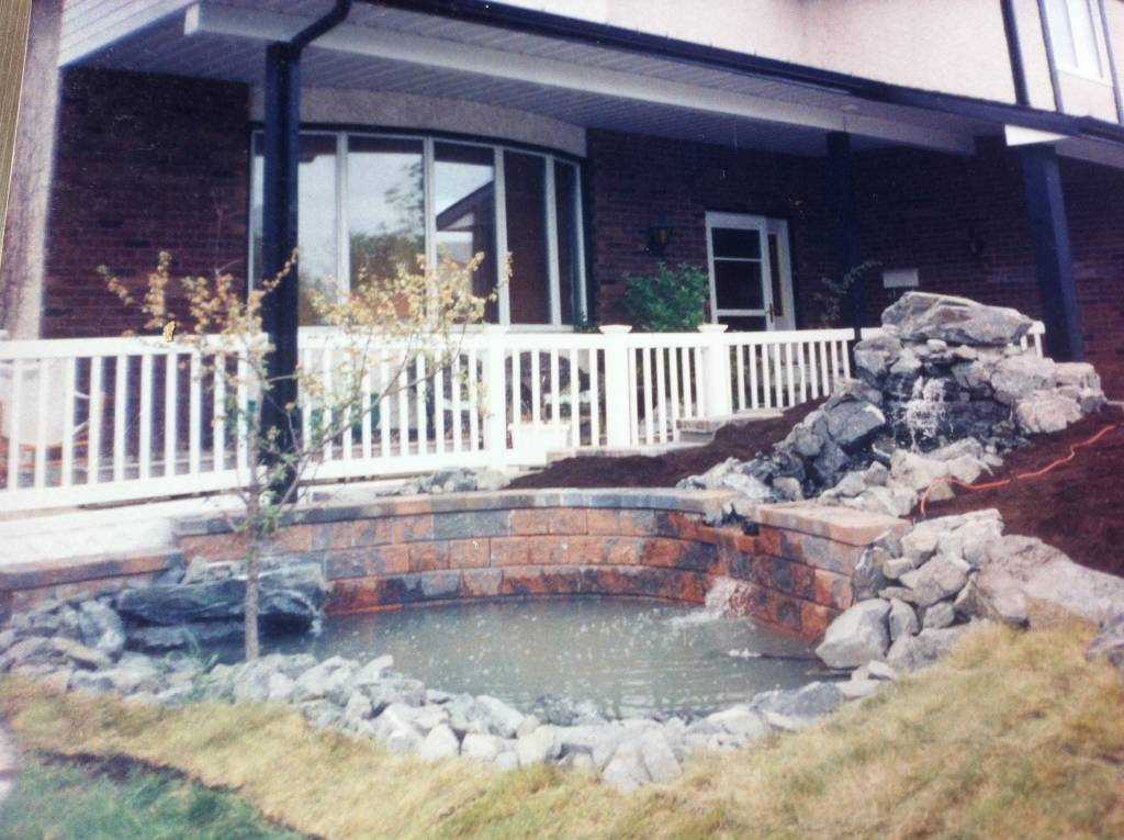 Landscaping: water feature