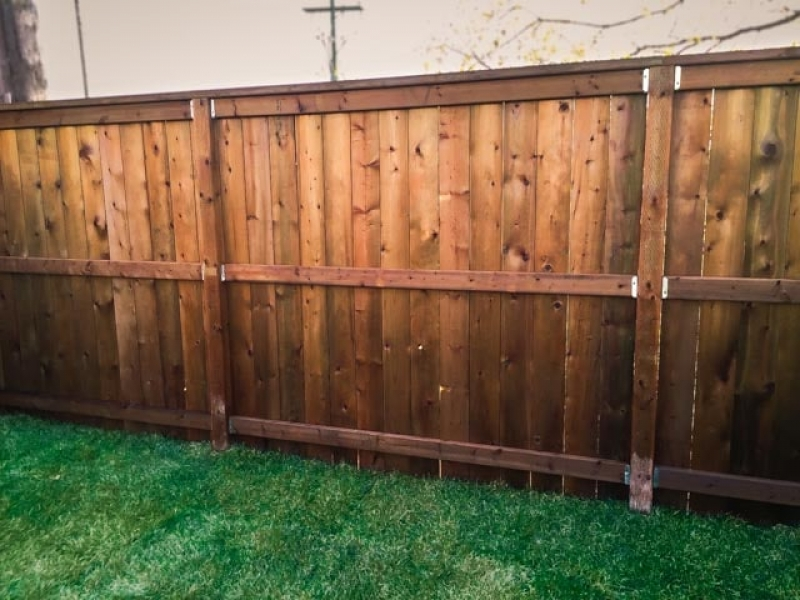 6ft Treated Brown Fence