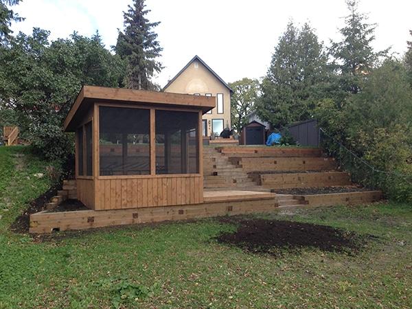 Lead image gazebos, retaining walls, decks, outdoor wood structures.JPG