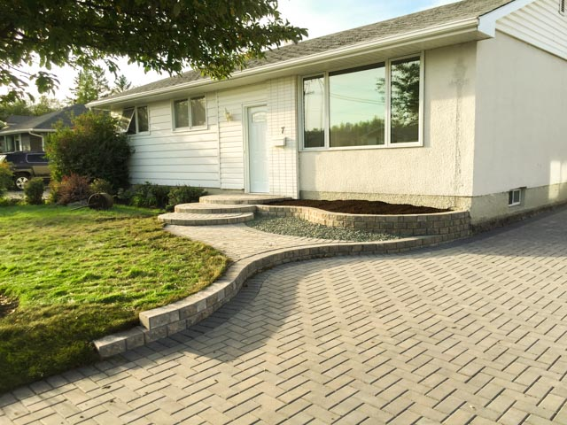 Lead image walks and patios, retaining walls