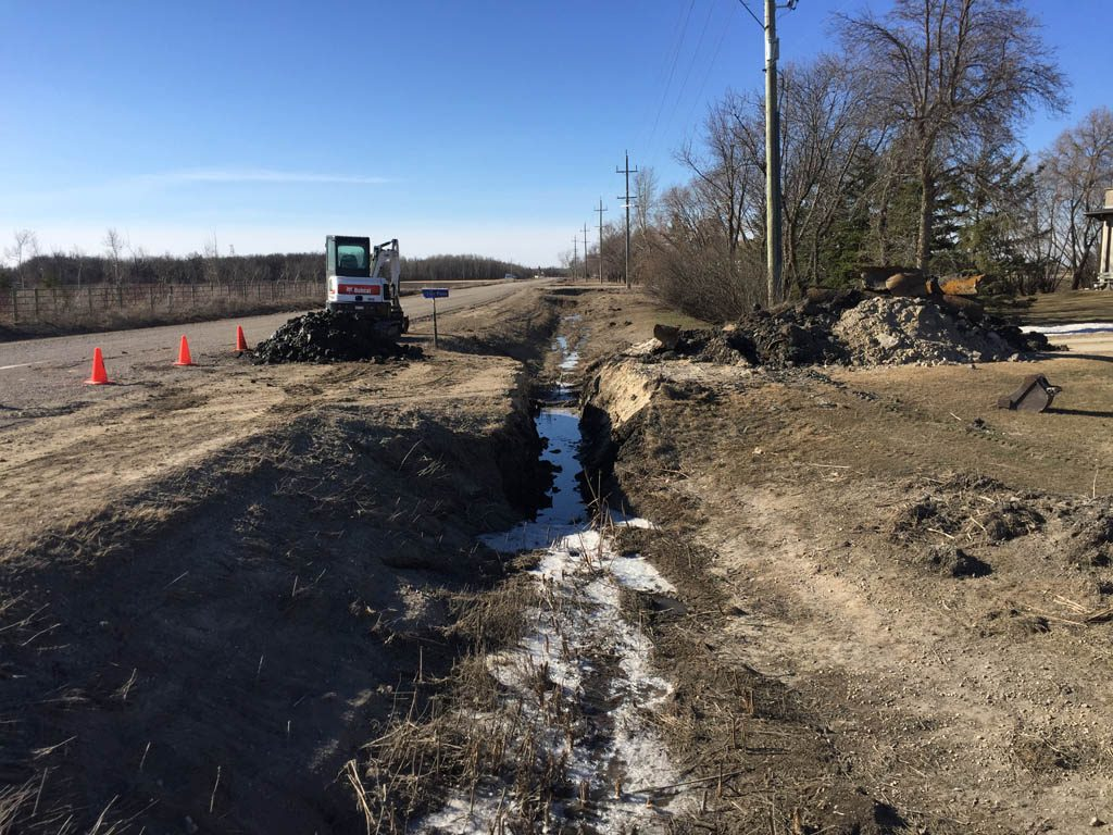 Culvert removal and installation