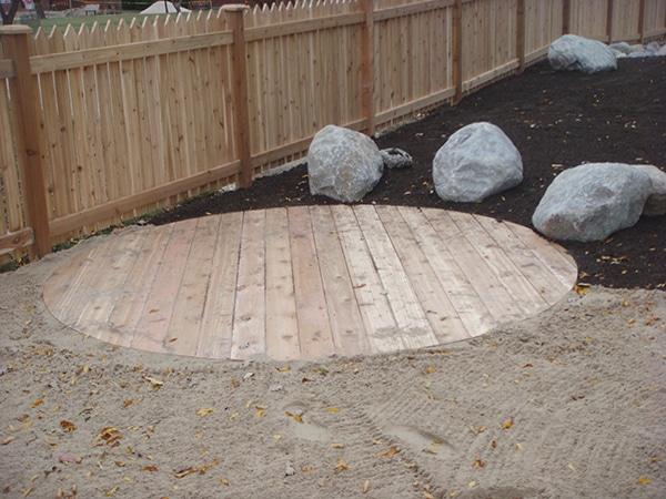 Round cedar deck.JPG