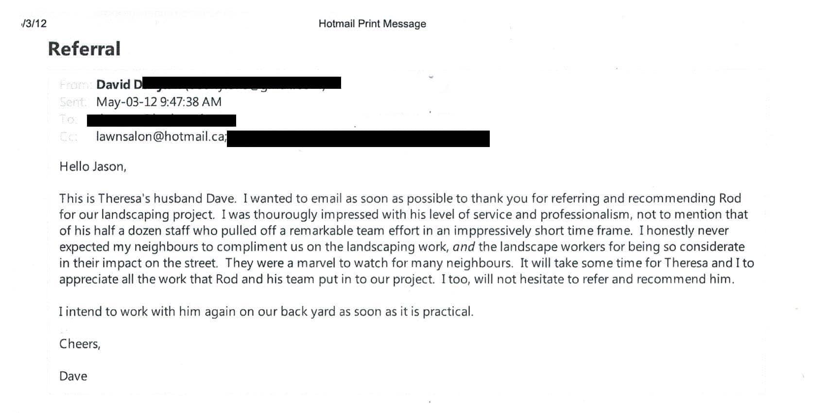 David, May 3, 2012